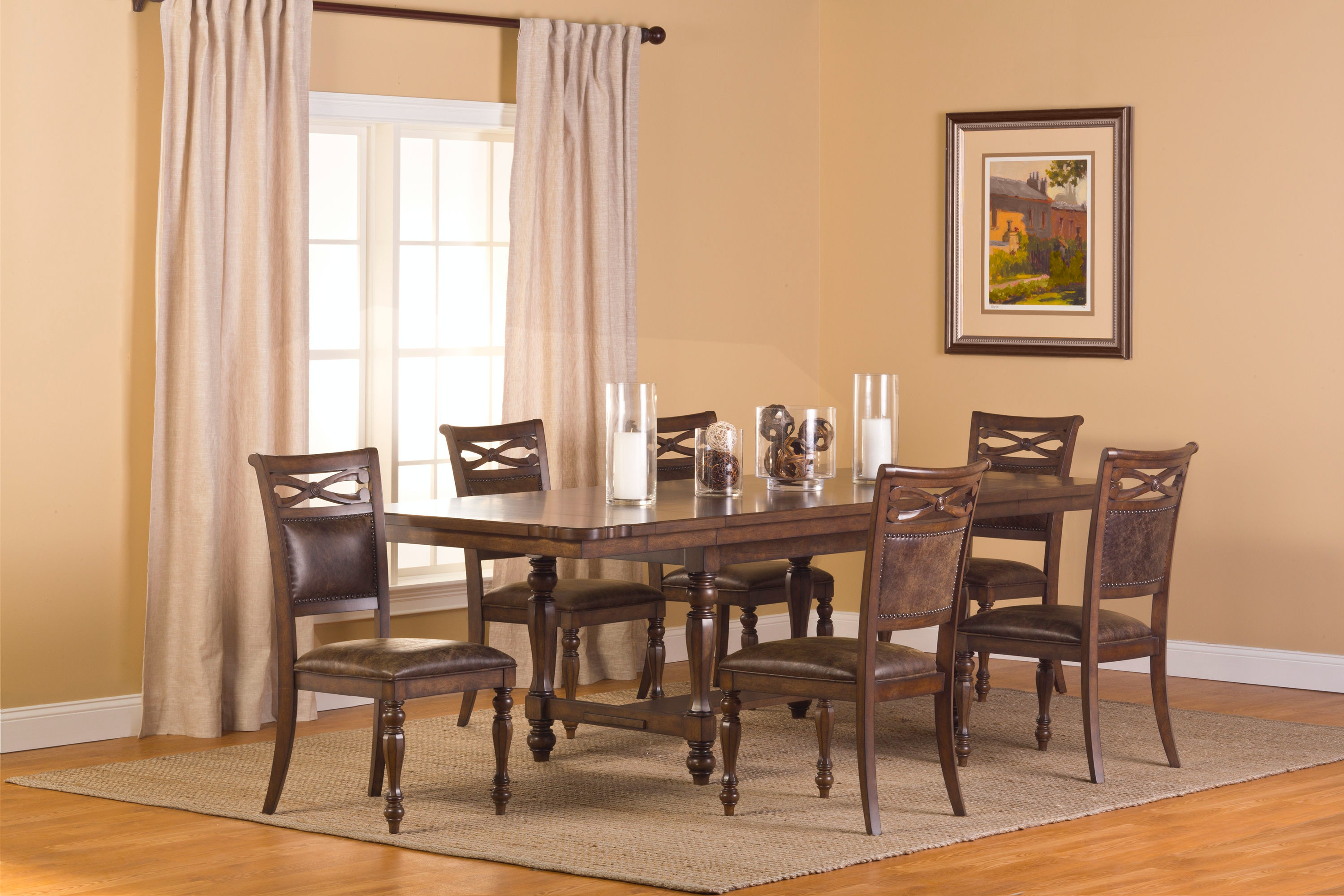 hillsdale furniture dining room seaton springs dining table 5484 814