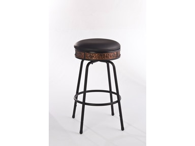 Hillsdale Furniture Howard Backless Metal Adjustable Barstool - Nested Leg 5645-830