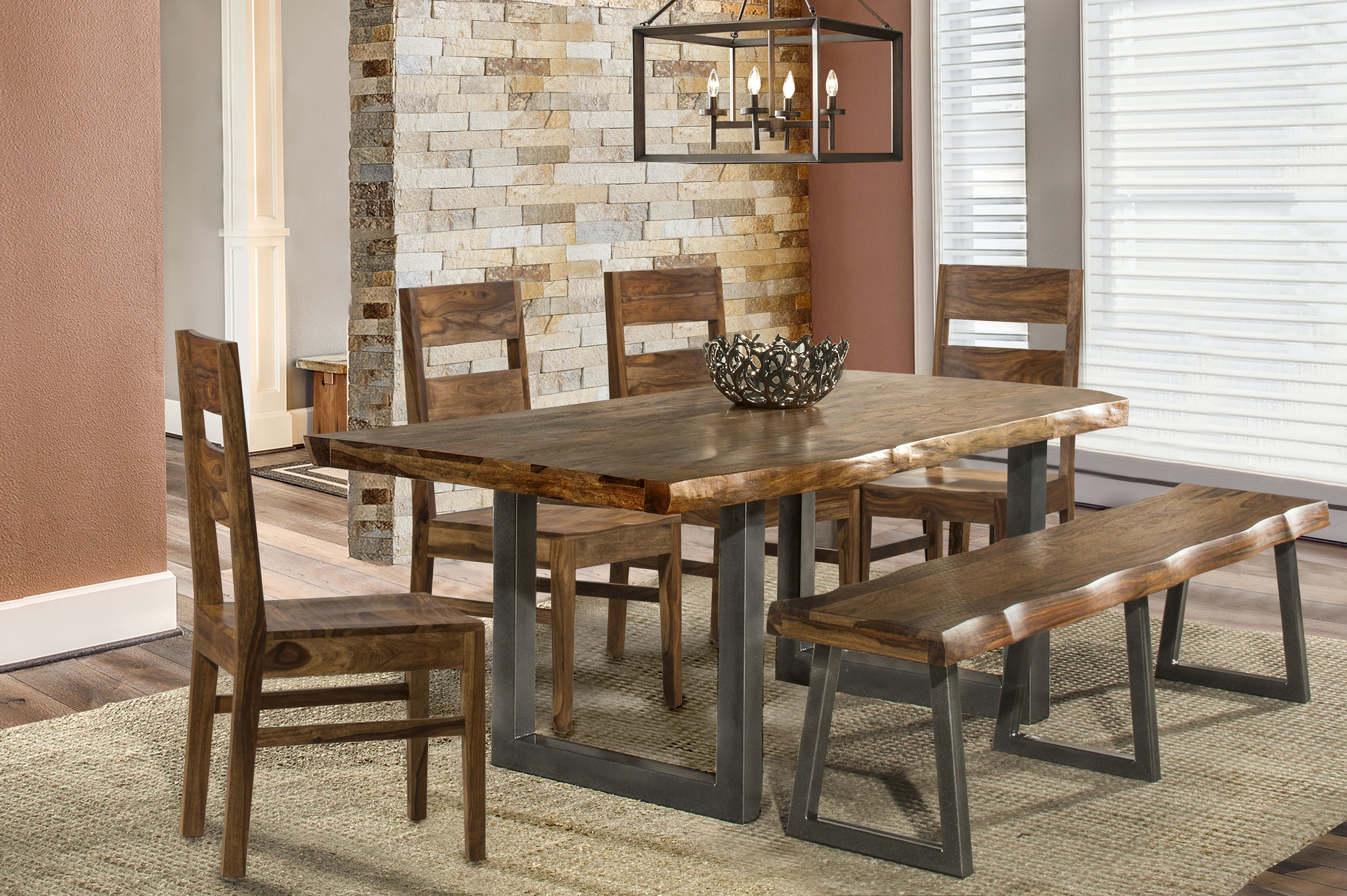 Gentil Hillsdale Furniture Emerson 6 Piece Rectangle Dining Set With One (1) Bench  And