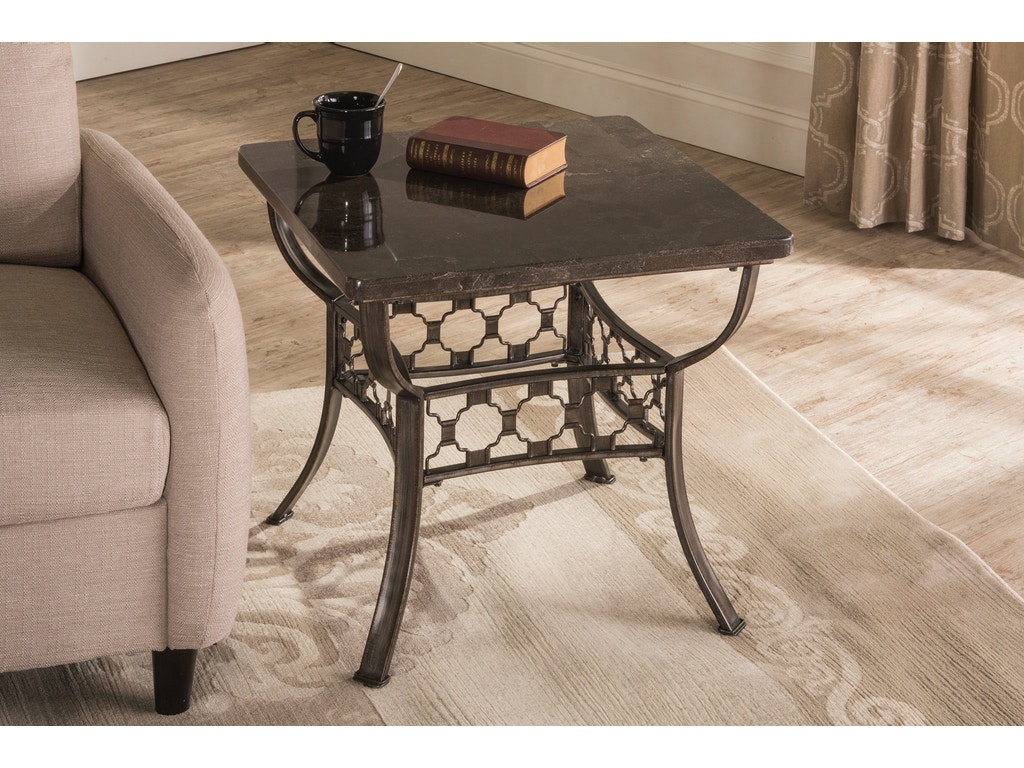 Hillsdale furniture living room brescello square end table for P square living room