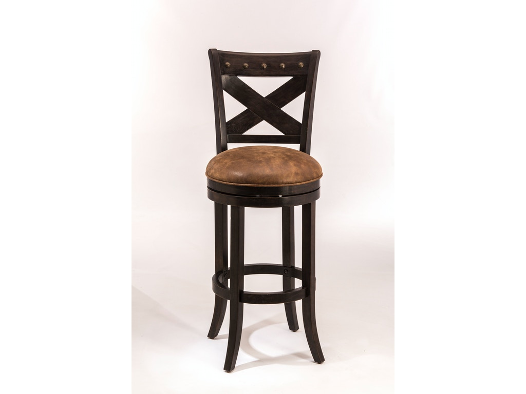 Hillsdale Furniture Bar And Game Room Brantley Swivel Counter Stool 5758 826 Simply Discount