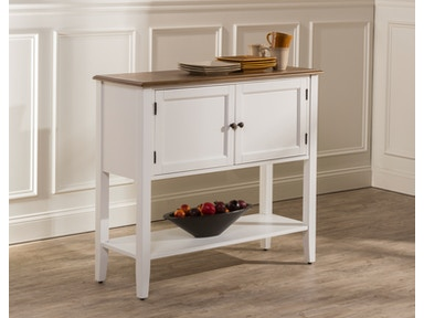 Hillsdale Furniture Bayberry/Embassy Server - White 5791-850