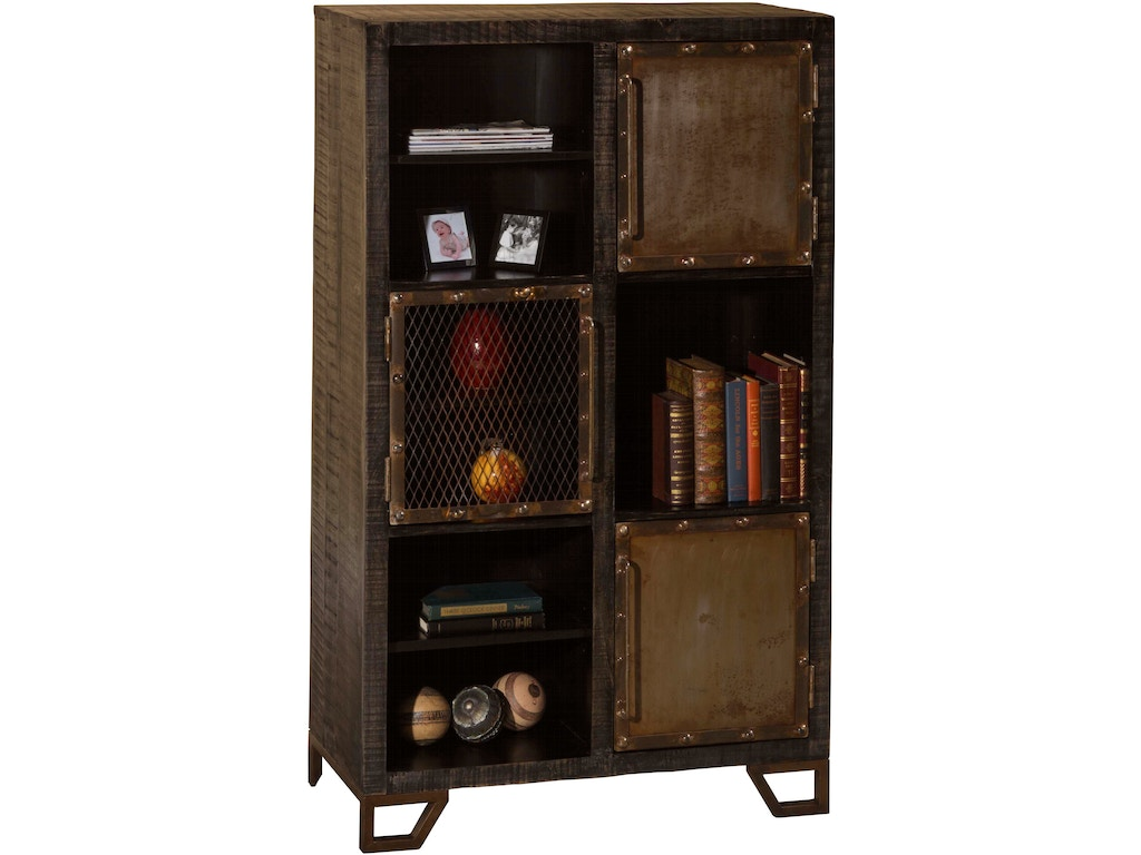 Hillsdale Furniture Living Room Bridgewater Tall Accent Cabinet Brushed Tan 5806 891b