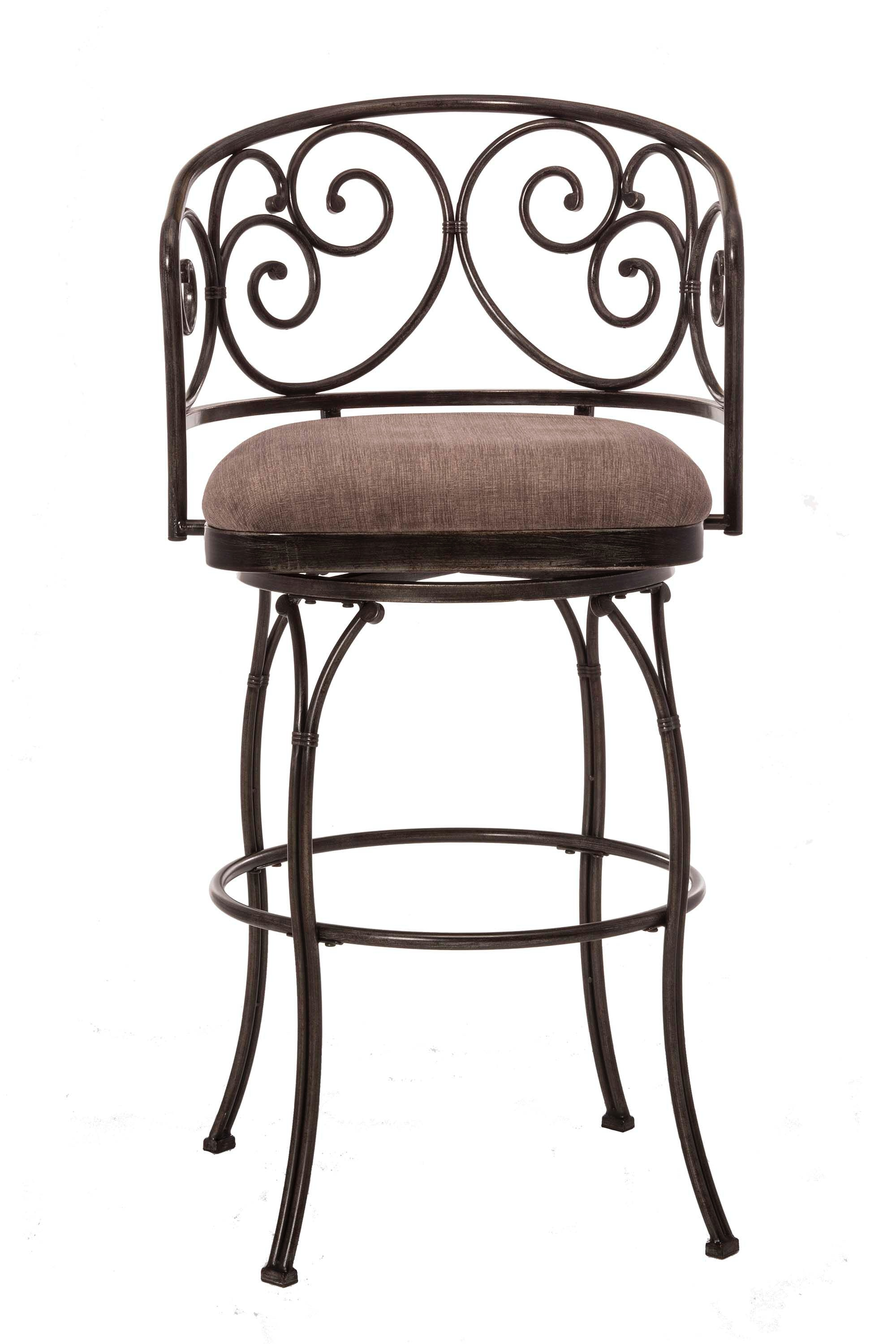Hillsdale Furniture Bar And Game Room Carrington Swivel Bar Stool 5938 831    Carol House Furniture   Maryland Heights And Valley Park, MO