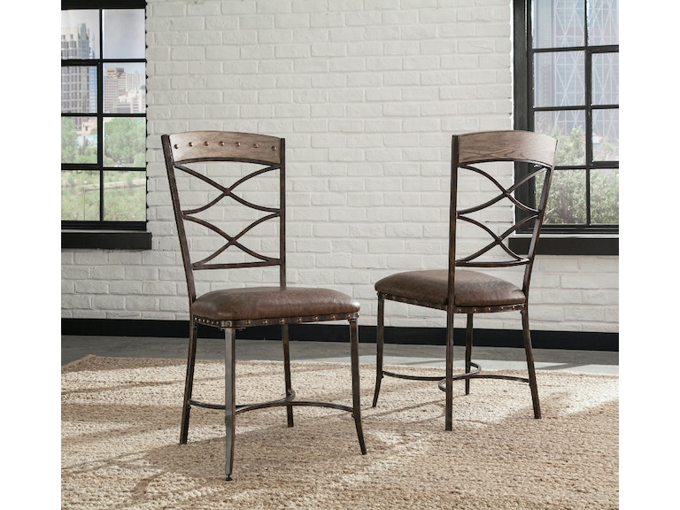 Hillsdale Furniture Dining Room Emmons 5 Piece Round Dining Set 5984dtbs5 American Factory