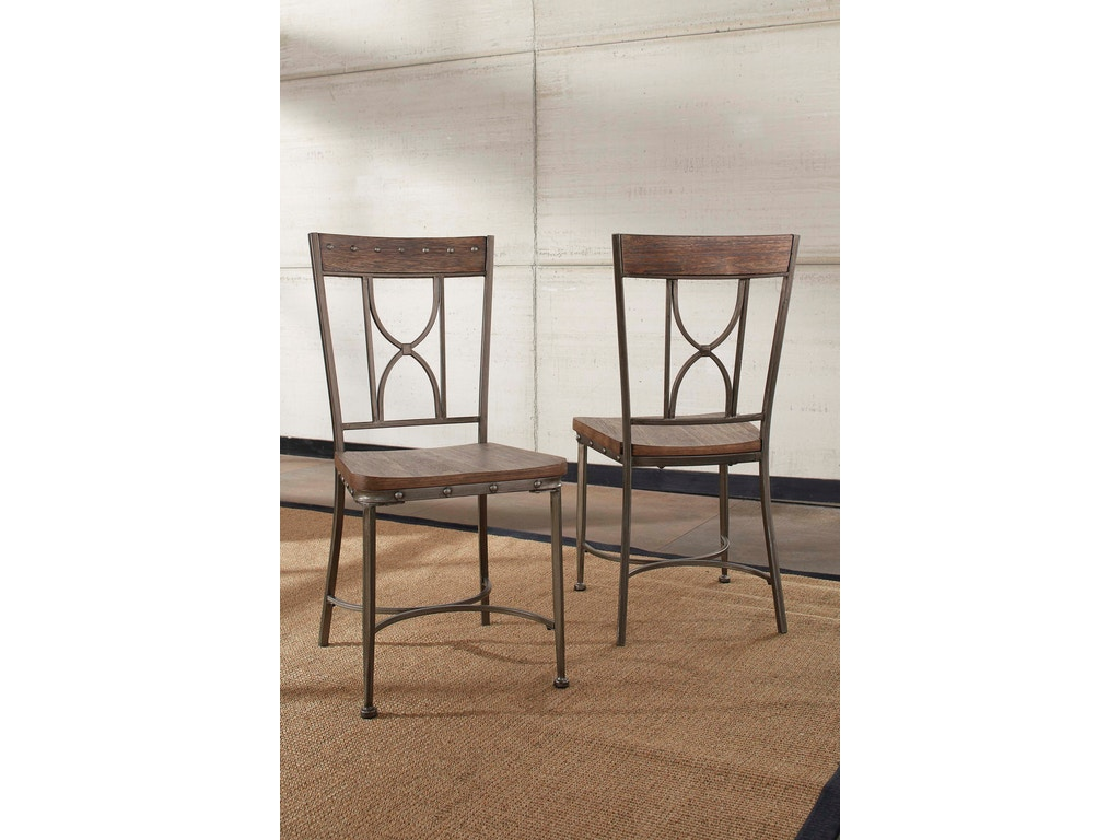 Hillsdale furniture dining room paddock 6 piece rectangle dining set 5987dbt6 american factory - Dining rooms direct ...