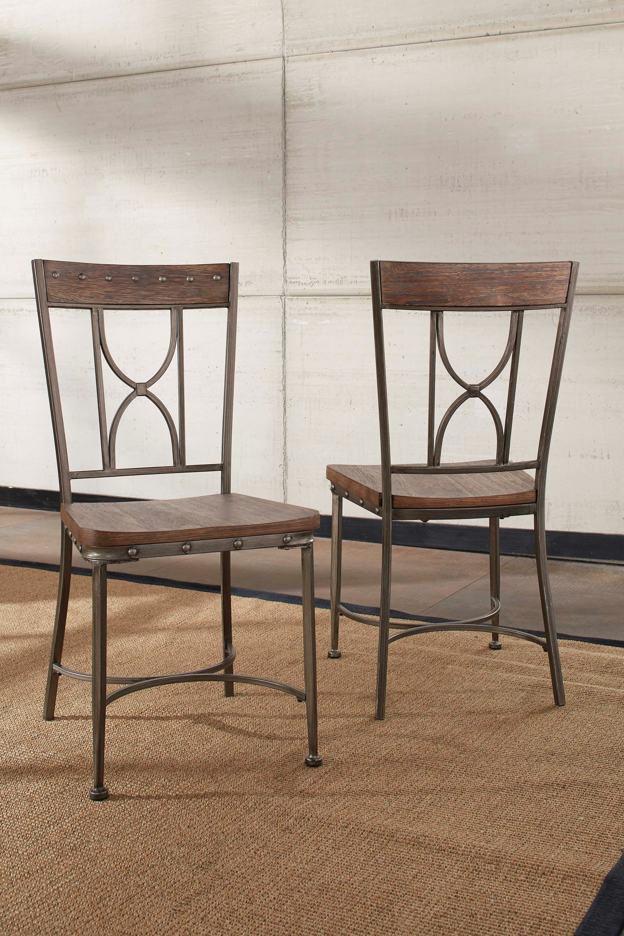 Hillsdale Furniture Dining Room Paddock Dining Chair   Set Of 2 5987 804   Smith  Village Home Furniture   Jacobus And York, PA