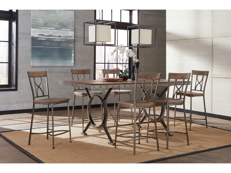 Hillsdale Furniture Dining Room Paddock 5 Piece Rectangle