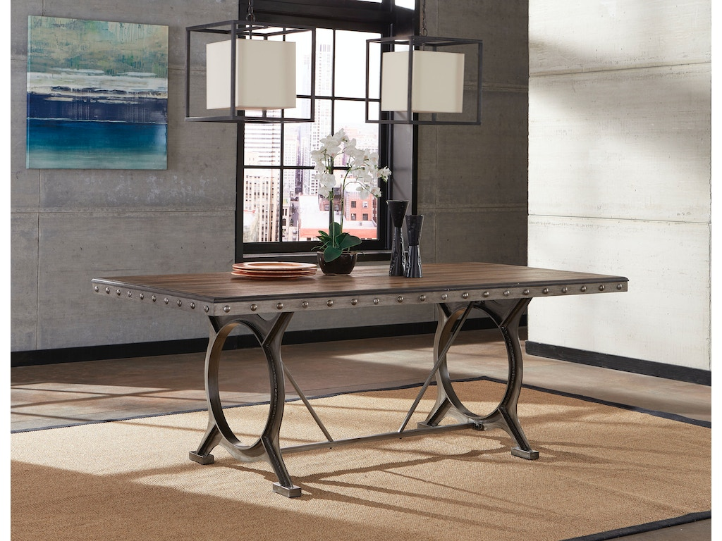 Hillsdale Furniture Dining Room Paddock Rectangle Dining Table 5987dtb Signature Furniture