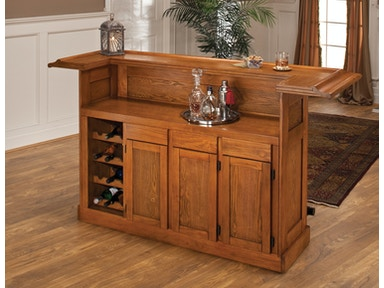 Hillsdale Furniture Classic Large Oak Bar 62576AOAK