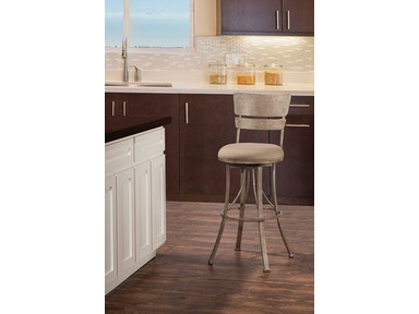Hillsdale Furniture Indoor/Outdoor Wakefield Swivel Counter Stool 6318-826