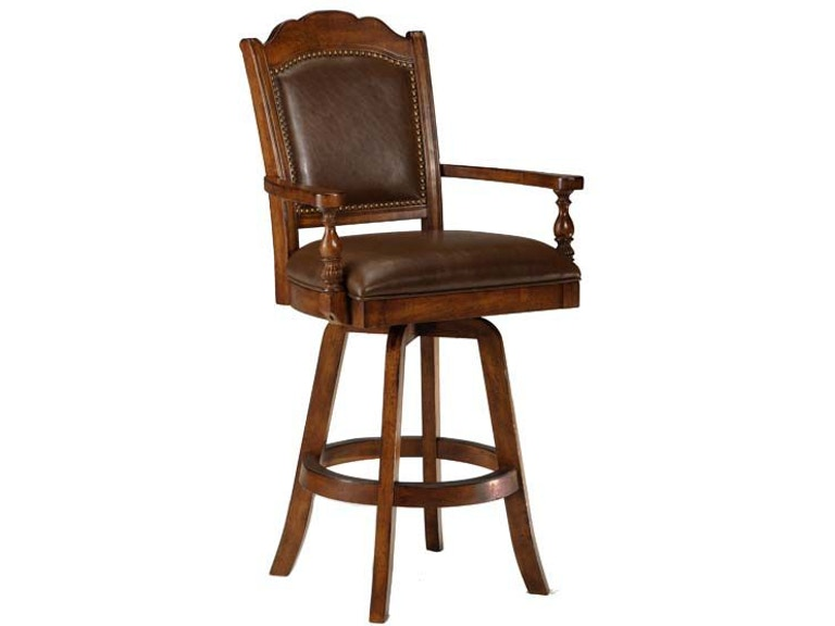 Hilale Furniture Bar And Room Nau Swivel Leather Stool 6060 830 Kettle River Bedding Edwardsville Il St Louis Mo
