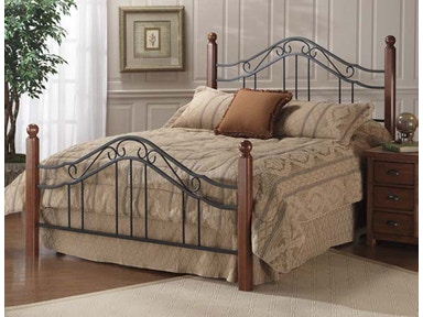 Hillsdale Furniture Madision Bed Set - King - Rails not included 1010BK