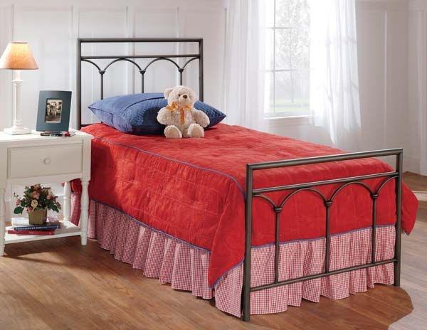 hillsdale furniture bedroom mckenzie duo panel twin 1092