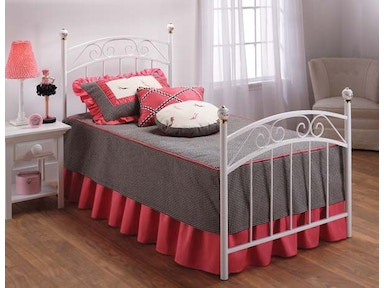 Hillsdale Furniture Emily Bed Set - Twin - Rails not included 11180