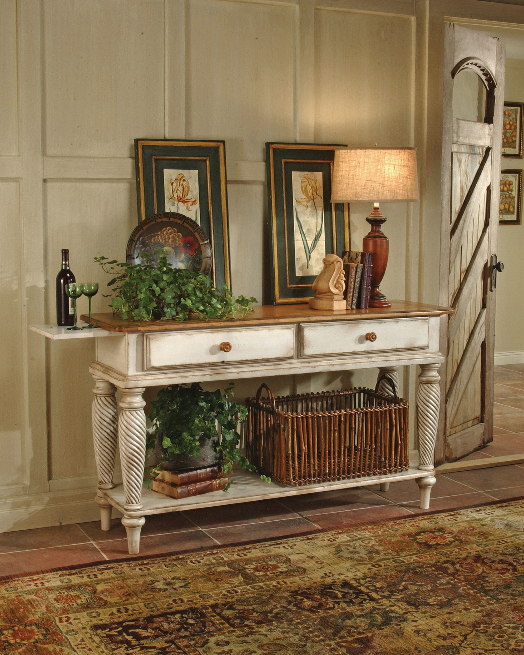 Hillsdale Furniture Living Room Wilshire Sideboard Legs 4508 857   Carol  House Furniture   Maryland Heights And Valley Park, MO