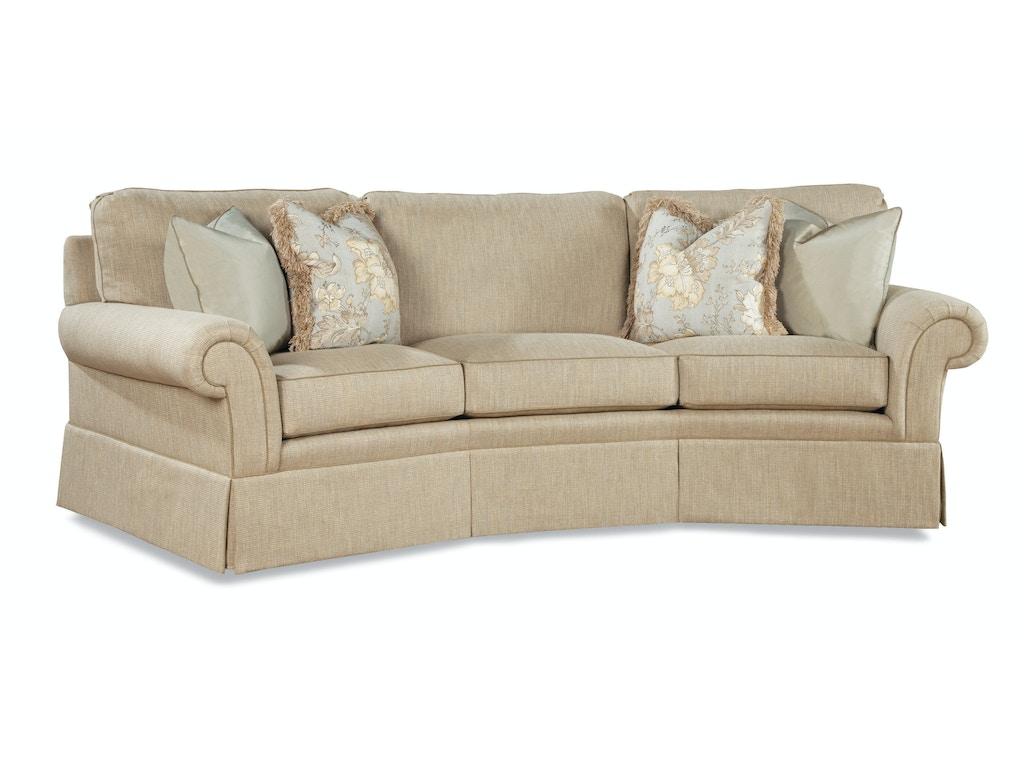 Huntington House Living Room Wedge Sofa