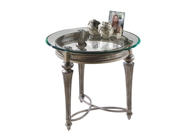 Magnussen Home Round End Table 37504