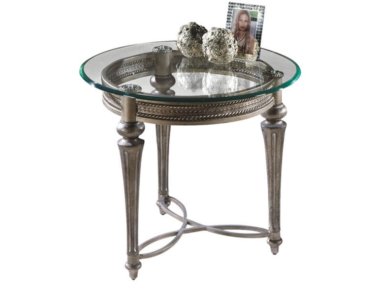 Magnussen Home Living Room Round End Table 37504 - Kalin Home Furnishings -  Ormond Beach, FL