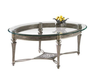 Magnussen Home Oval Cocktail Table 37526