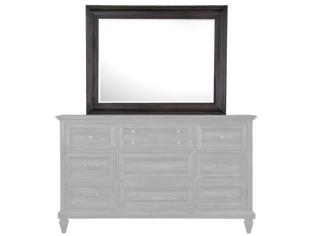 Magnussen Home Accessories Landscape Mirror 549111014 Hansens Furniture Modesto And Winton