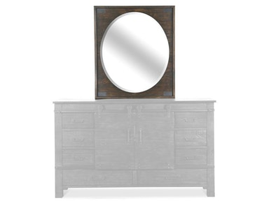 Magnussen Home Portrait Oval Mirror B3561-43