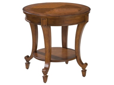 Magnussen Home Round End Table T1052-05