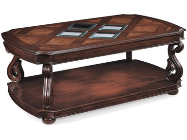 Magnussen Home Rectangular Cocktail Table (With Casters) T1648-43