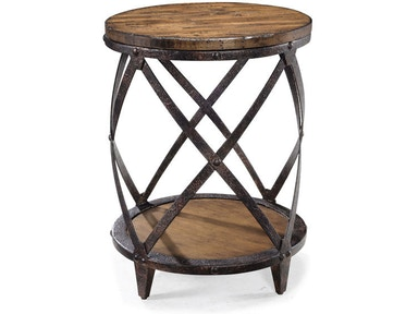 Magnussen Home Round Accent Table T1755-35
