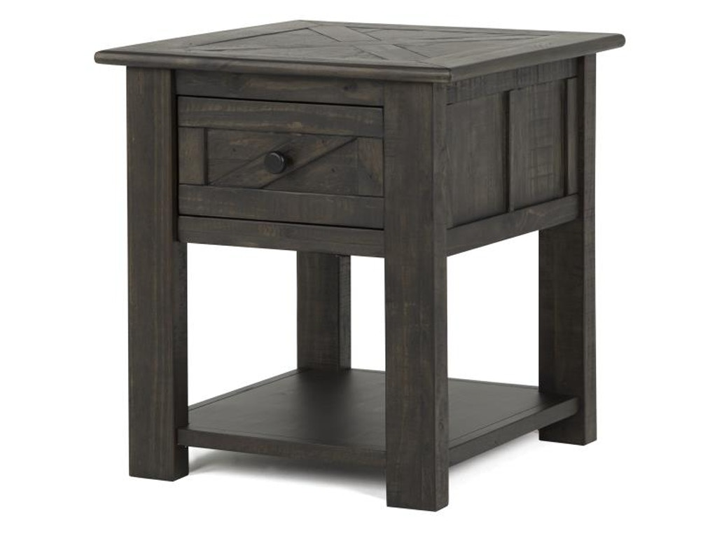 Magnussen Home Living Room Garrett End Table 528686