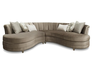 Magnussen Home Taupe Sofa 2 Pcs Sectional U4066-01-072