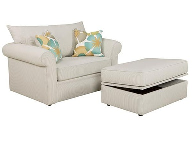 Overnight Sofa Twin Sleeper 6133