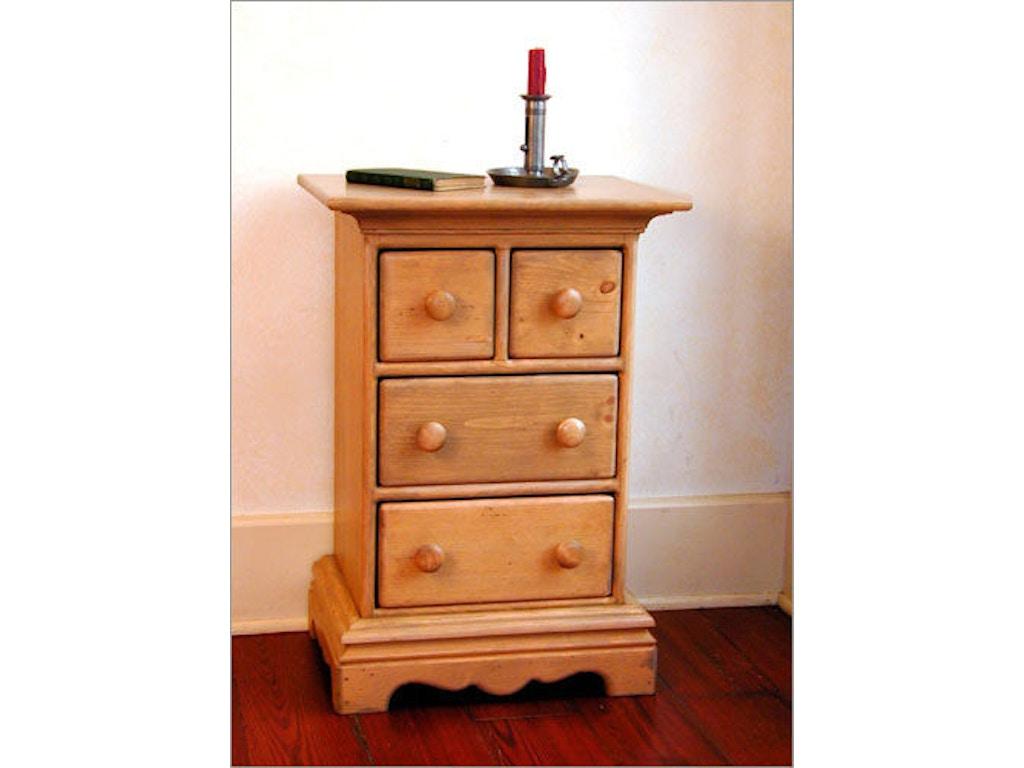 Southern craftsmen 39 s guild bedroom heritage mini chest for Bedroom furniture union nj