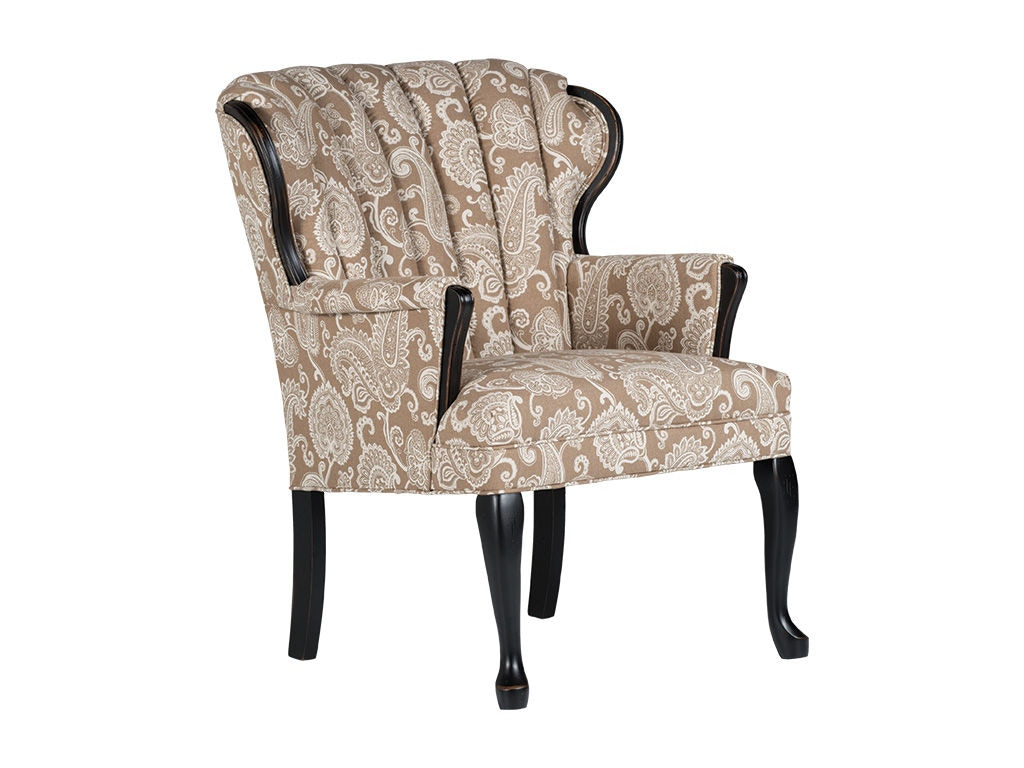 Best Home Furnishings Living Room Queen Anne Accent Chair 0820 Arthur F Schultz Erie Pa