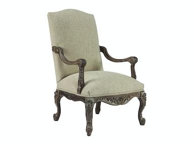 Best Home Furnishings Living Room Accent Chair - Leather/Fabric Combination
