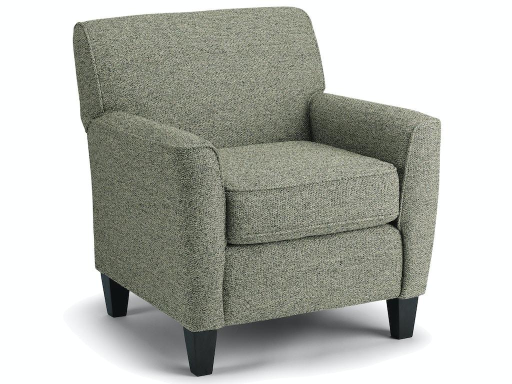 Best Home Furnishings Living Room Club Chair 4190 Adams Furniture Huntsville Tx