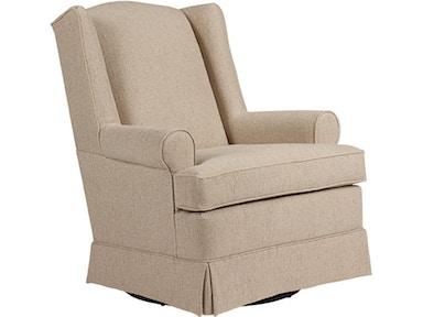 Best Home Furnishings Living Room Swivel Glider 7197 - Arthur F ...
