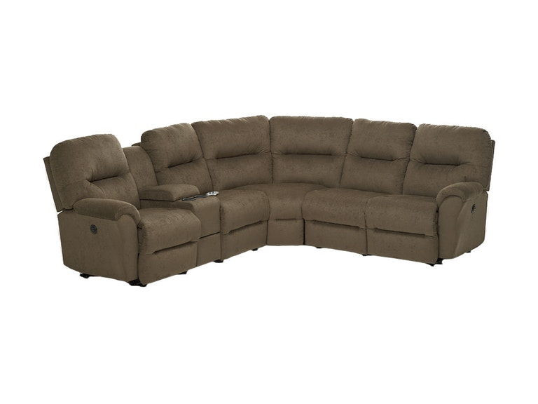 Best Home Furnishings Living Room Motion Sectional M760 Sect Woodchucks Fine Furniture Decor