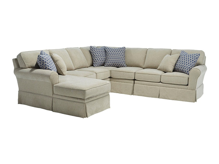 Best home furnishings living room annabel sectional m82 for Annabelle chaise