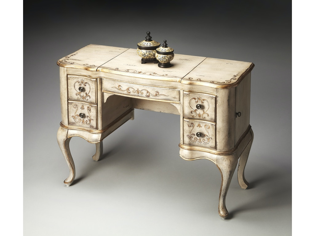 Butler specialty company bedroom vanity 0735238 michael for Bedroom furniture union nj
