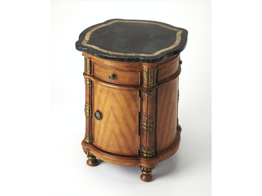 Butler Specialty Company Living Room Drum Table 0847070 - North ...