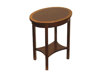 Accents Beyond Living Room Oval End Table