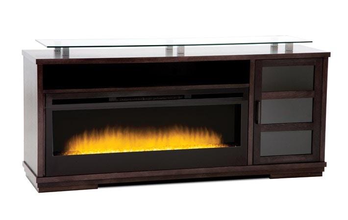 La Credenza Milano : Buhler furniture home entertainment milano fireplace credenza