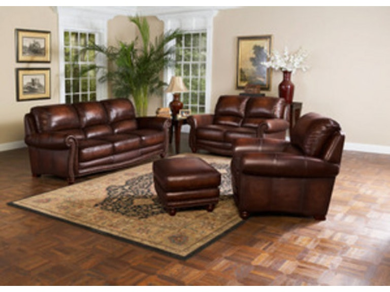 Leather Italia Living Room James Sofa 1831 S9922 032952 Shumake Furniture Decatur And