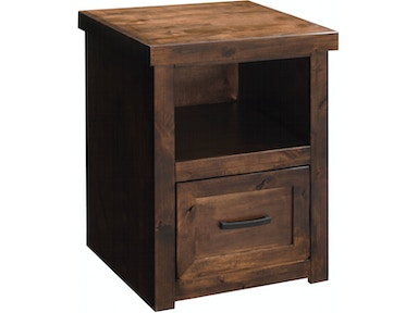 Legends Furniture Sausalito One Drawer File Cabinet SL6805.WKY