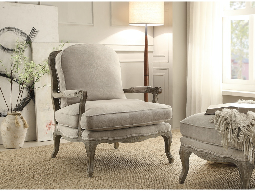 Homelegance Living Room Accent Chair 1234 1 D Noblin Furniture Pearl And Jackson Ms