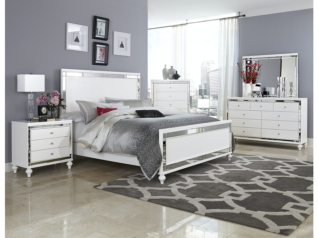 Homelegance bedroom night stand 1845 4 kaplans furniture for H plan bedroom furniture