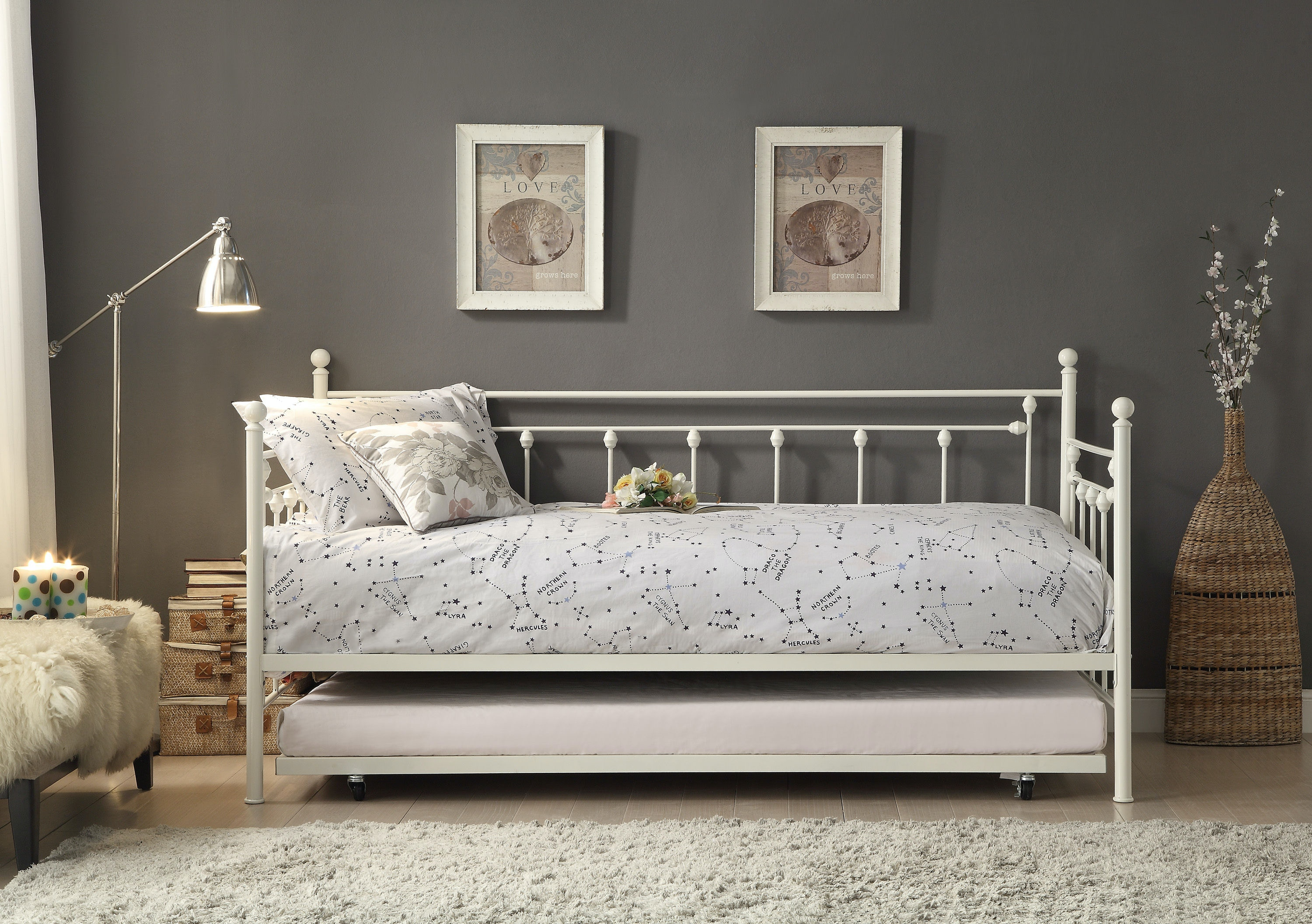 Homelegance Bedroom Daybed With Trundle 4965W NT   Furniture Plus Inc.    Mesa, AZ
