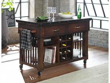Horizon  Schleiger Kitchen Cart 526926