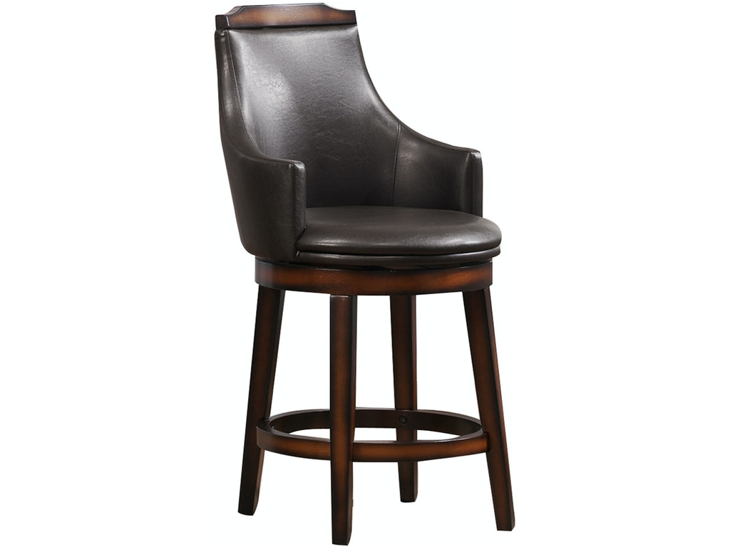 Homelegance Bar And Game Room 360 Swivel Counter Height